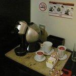Cafetera que recargan a diario