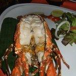 Baked Lobster in White Wine Sauce - FRESH!