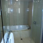 Shower Enclosure With Seperate Tub