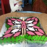 My Daughters B'day Cake.....!!!