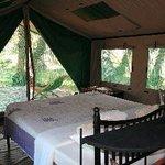 Lake Manze - Tent indoor