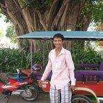 Our fantastic Tuk Tuk Driver