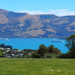Stunning views over Akaroa Harbour