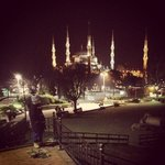 Sultanahmet moske nær hotellet