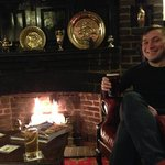 A pint by the fire