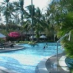 Pool at the Melia Hotel in Bali