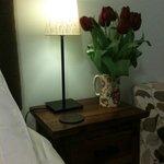 Romantic bedside