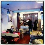 inside Strada Cafe