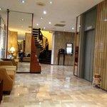 lobby y ascensores