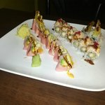 Pink Lady and Ten Special Rolls