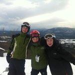Birthday Skiing