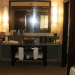 hotel room bathroom