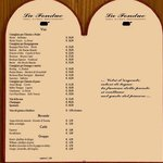Lista Bevande & Prezzi Ristorante La Fondue Firenze