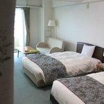 部屋(ツインベッド)