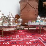 moroccan tea ceremony