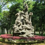Maba Man statue
