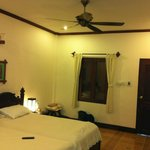 Room, nice dark shutters