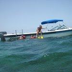 Atour Boat in Playa Pilar