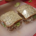 Glutten Free sandwiches.