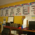 Menu and prices.