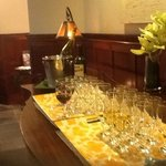 Evening wine social