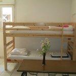 Dortoir 4 lits