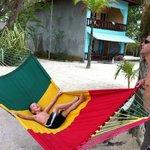 fun in a hammock