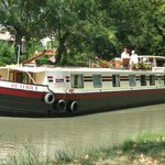 The barge Beatrice on the canal du midi