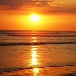 Atardercer en Playa Bejuco