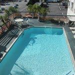 Pool on second floor