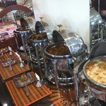 a selection of our buffets on show at Jannat Restaurant