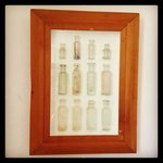 Bottle collection wedding suite