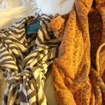 animal print robes!! so fun!