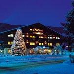 Hotel Garni Senfter sotto la neve