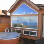 hot-tubs on every deck