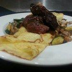 Beef crepe
