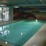 Indoor pool for swimming, water arobics, & vollyball