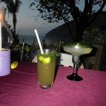 MnM = Margarita & Mojito; best drinks in Yelapa.