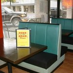 Choose from roomy Booths or Tables
