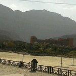 The main bldg. (view from El Jazera)