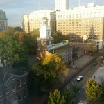 View of Independence Hall from my Room