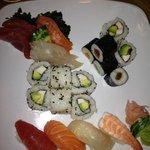 sushis, sashimis et california rolls