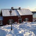vinter i gamla Oxelösund