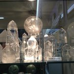 Magical crystals at Crystal Fantasy - downtown Palm Springs