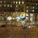Looking Onto The Champs-Elysees From Our Room