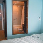 Westin Bathroom with shutter window and do