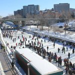 Rideau Canal skateway - a world heritage site