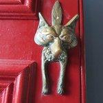Original Fox door knocker