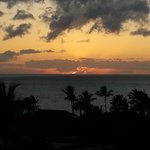 Sunset fro our Lanai