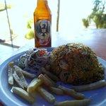 Rice & Seafood Dish